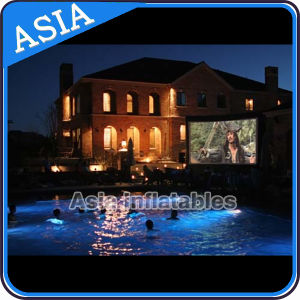 Inflatable Floating Water Movie Screen, Commercial Giant Inflatable Screen for Leisure pictures & photos