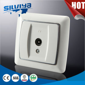 Durable Quality! European TV Wall Socket pictures & photos