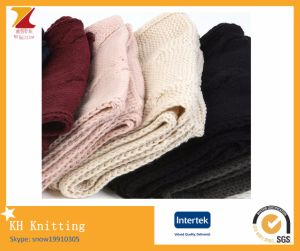 Winter Long Style Knitted Scarf