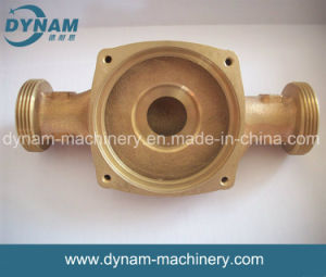Valve Machinery Parts Precision CNC Machining Copper Sand Casting