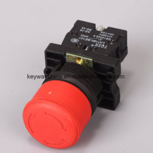 Emergency Mushroom Push Button Switch with Red/Green Color pictures & photos