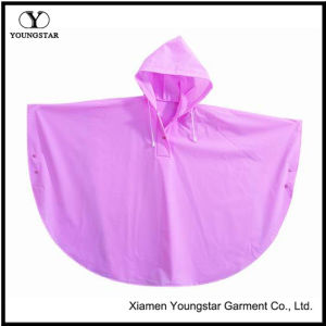 Fashion PVC Children′s Rain Poncho Waterproof Toddler Girls Raincoat pictures & photos