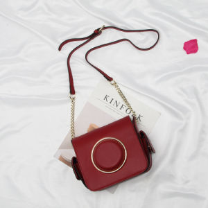 Al90056. Ladies′ Handbag Handbags Designer Handbags Fashion Handbag Leather Handbags Women Bag Shoulder Bag Cow Leather