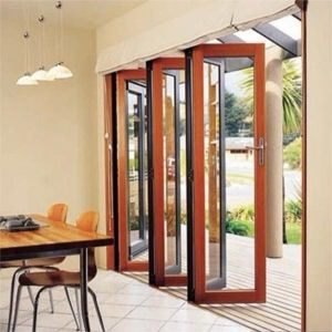 Aluminum Folding Door Design Interior Glass Bifold Doors pictures & photos
