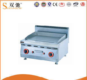 Commercial Gas Table Griddle Gas Lava Rock Grill for Sale pictures & photos