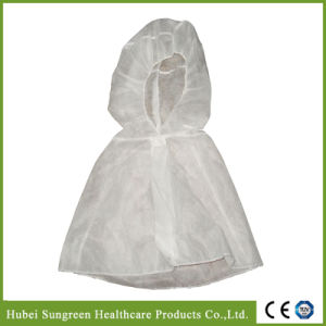 Disposable Non-Woven Hood, Head Cover with Cape pictures & photos
