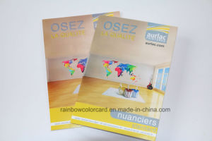 Emulsion Coating Color Chart Card in Two Sides pictures & photos