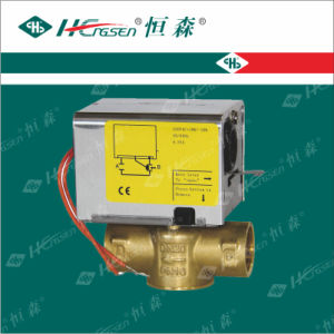 2 Way Motorized Valve for Air Conditioning System pictures & photos