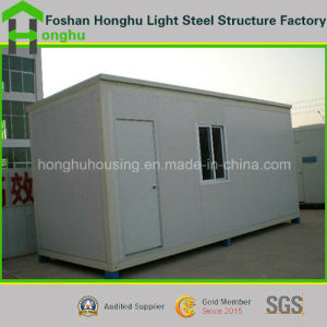 Color Steel Sandwich Panel Container Home with Steel Structure pictures & photos