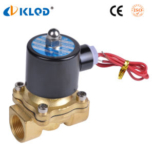 Low Price 220V 2W Series Electric Solenoid Water Valve pictures & photos