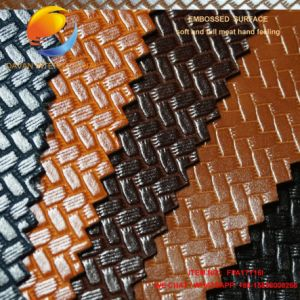 Good Quality PU Coated Synthetic Leather for Bag Fpa17y16I pictures & photos