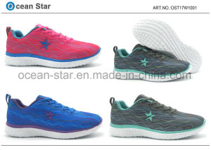 New Arrival Flyknit Fashion Leisure Lady Shoes pictures & photos