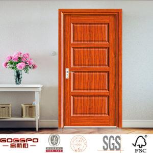 Charming Western Style Plywood Interior Wooden Door Design (GSP6 008)
