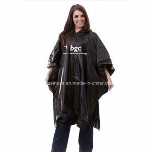 with Printing Logo/ PVC/ Waterproof and Windproof/ Rain Poncho pictures & photos