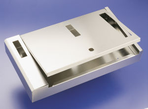 Gl006 Custom High Quality Sheet Metal Cabinet Box pictures & photos