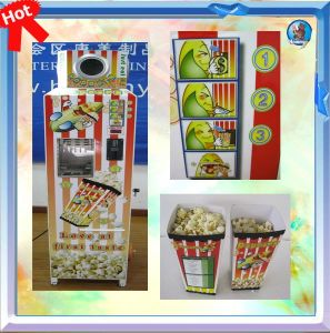 Automatic Vending Popcorn Machine with Coin Acceptor pictures & photos