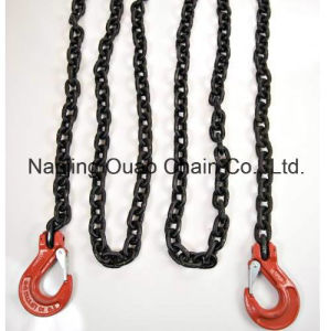 G30/G43/G70 /G80galvanized Link Roller Conveyor Chain with Hooks