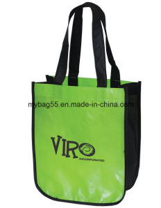 Gravure Print BOPP Laminated Non-Woven Promotion Bags pictures & photos