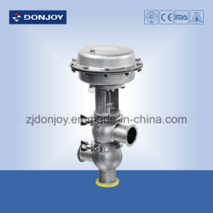 Ss 304 Sanitary Thin Film Pneumatic Reversing Valve with EPDM Seal pictures & photos
