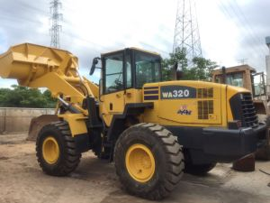 Used Wheel Loader Japan Komatsu Wa320-5 for Sale pictures & photos