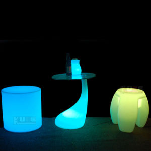Illuminated Furniture Hire LED Light Cube Table Illuminated Lamp pictures & photos
