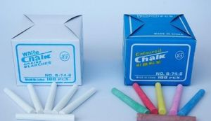 Chinese Cheap Price School and Kids Use All Kinds Jumbo Dustless Normal White and Colored Chalk