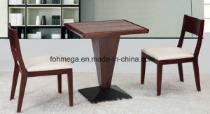 Australia Design Solid Wood Coffee Shop Furniture Table Sets pictures & photos