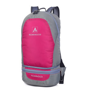 Popular Custom Large Casual Foldable Waterproof School Bag Backpack pictures & photos