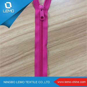 Wholesale Customized Nylon Zipper for Garment Production pictures & photos