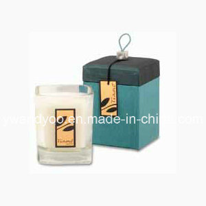 Scented Soy High End Square Glass Candle