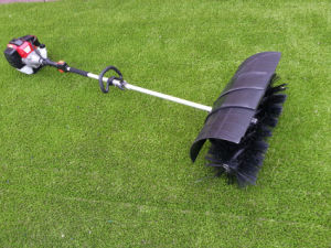 Gasoline Power Broom for Artifical Grass pictures & photos