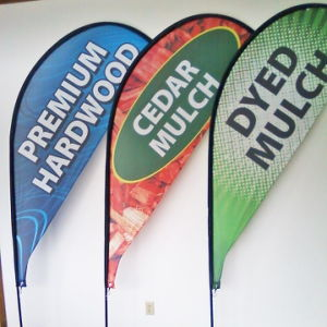Outdoor Advertising Tear Drop Banner pictures & photos