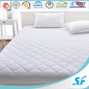 Hypoallergenic White Box Quilted Goose Mattress Protector pictures & photos