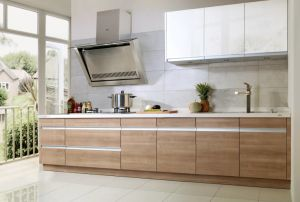 Melamine Finish Wood Kitchen Cabinet