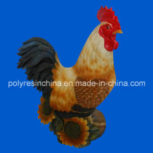 3D Polyresin Rooster Statue for Home Deocr pictures & photos