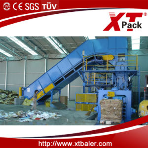 Large Capacity Full Automatic Baler for Paper and Cardboard