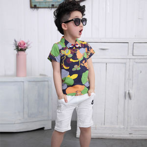 Hot Sale Summer Clothing Sets Kids T-Shirt for Comfortable pictures & photos