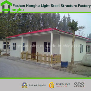 Portable Steel House Prefabricated Villa Building with Indoor Facilities pictures & photos