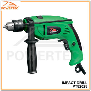 Powertec 580/800W 13mm Electric Impact Drill (PT82028) pictures & photos