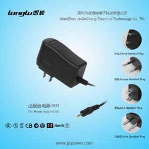 12V/1A/12W AC/DC Adaptor with Switching Power Adapter