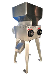 Brewery Used Grain / Malt Mill with Double Roller