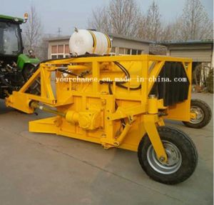 Canada Hot Sale Zfq Series Tractor Trailer Compost Turner with Water Tank  and Spraying Mainfold for Making Organic Fertilizer