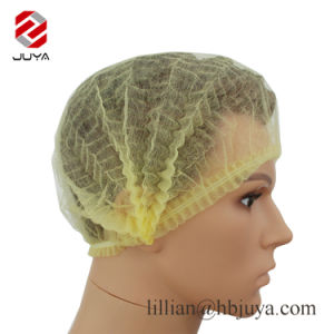 Hair Cover Strip Non Woven Clip Mob Cap Disposable Hair Cap Beauty Bouffant Caps