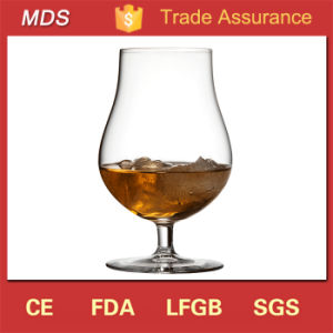 Most Popular Buy Bulk Rum Whisky Glass with Short Stem pictures & photos
