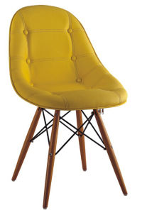 Modern New Design Wooden and Leather Leisure Eames Chair, Eames Stool (SZ-LCF55B) pictures & photos