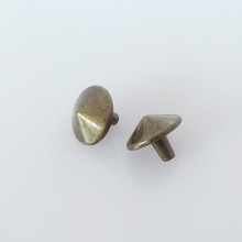 Silver Cone Spikes Screwback Studs DIY Craft Cool Rivets Punk pictures & photos