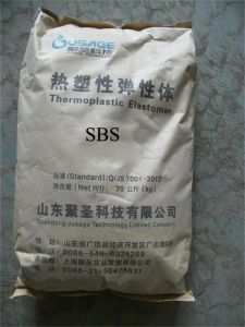 Sbs Pellets /Thermoplastic Elastomer/ Raw Material for Asphalt Modification