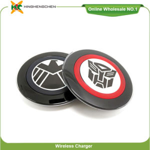 Agent Superman Cartoon Wireless Charger for Samsung S6 pictures & photos