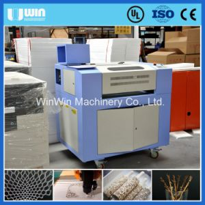 6040 Paper Cutting Machine Low Price 50W Laser Cutting Machine pictures & photos