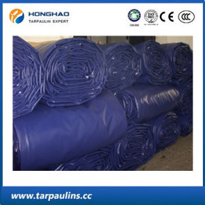 Factory Price Waterproof PVC Coated Polyester Fabric Tarpaulin Bales pictures & photos